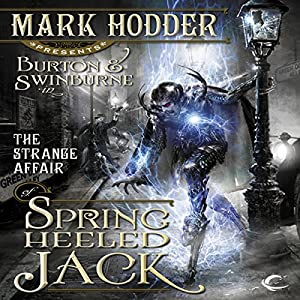 The Strange Affair of Spring Heeled Jack Audiobook