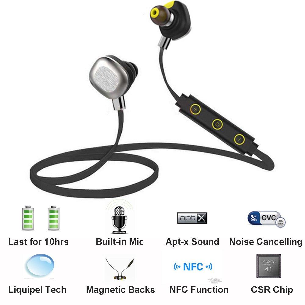 aelec® Bluetooth 4.1 Waterproof Wireless Headphones
