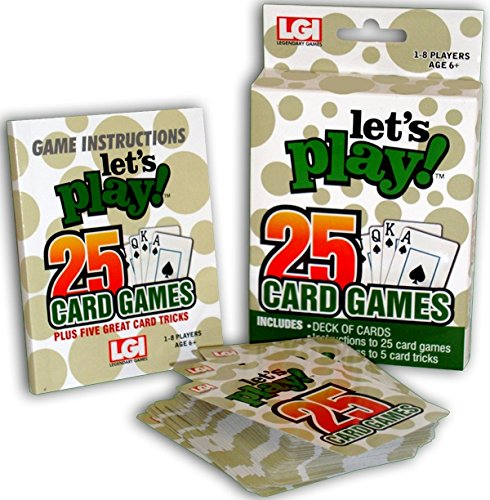 Let's Play 25 Card Games