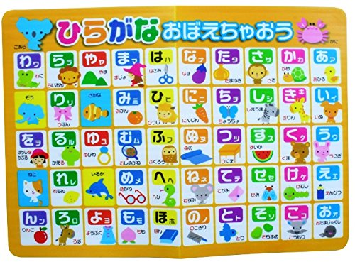 Large Japanese Hiragana Bath Poster