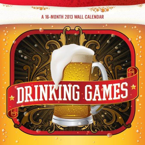 Drinking Games 2013 Wall Calendar