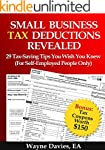 Small Business Tax Deductions Reveale...