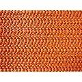 Tischdecke aus Schaumstoff 130x160cm eckig terracotta