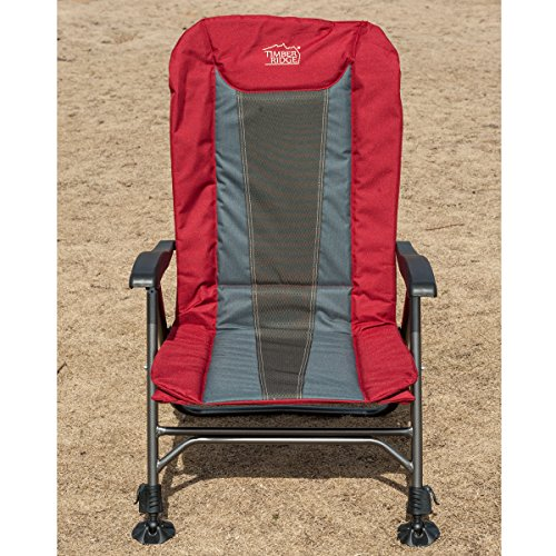 NEW TimberRidge Ultimate Outdoor Adjustable Chair With