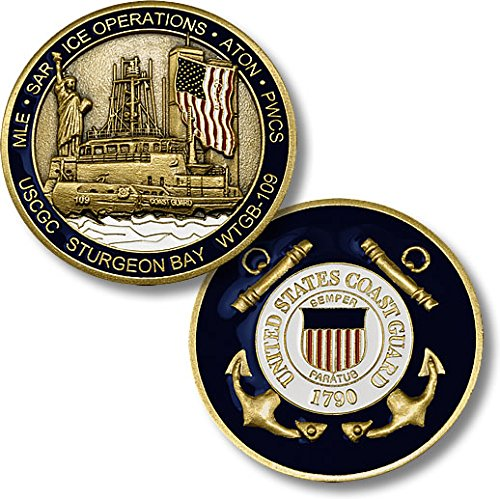 USCGC Sturgeon Bay (WTGB-109) Challenge Coin