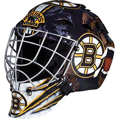 Franklin-Sports-GFM-1500-NHL-Boston-Bruins-Goalie-Face-Mask