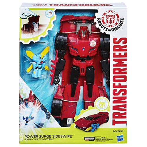 Transformers - Figurina Rid Power Hero Sideswipe