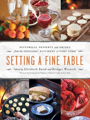 Setting a Fine Table: Historic Desserts and Drinks from the Officers' Kitchens at Fort York