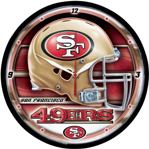 Wincraft San Francisco 49ers Round Clock