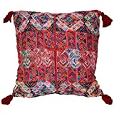 Laura Luna Textiles LL16-116 Clochi Pillow, 30-Inch by 30-Inch