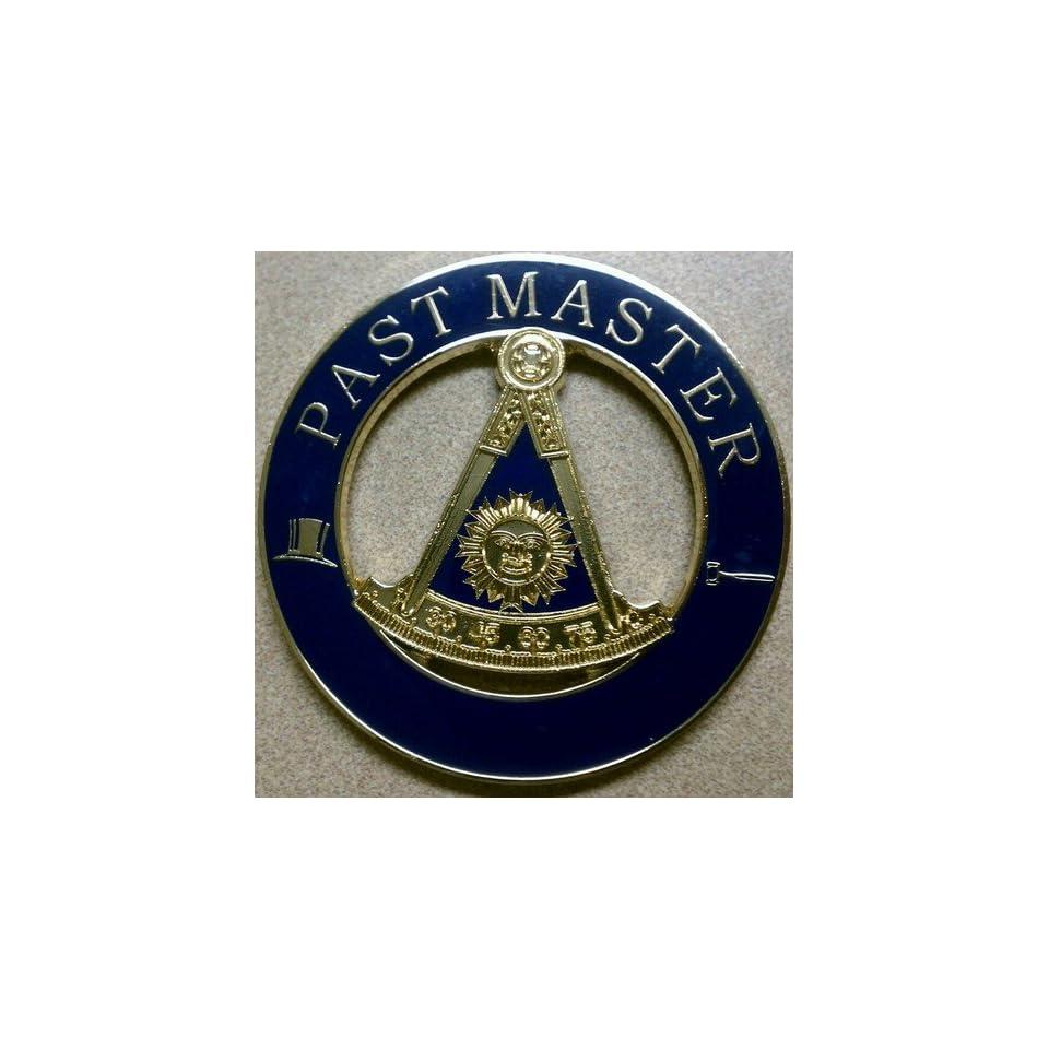 Freemason Past Master Cut Out Car Emblem