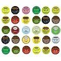 Tea Sampler, K-Cup Portion Pack for Keurig K-Cup Brewers (Pack of 30) from Celestial Seasonings, Bigelow, Twinings