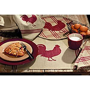 13 inch x 19 inch dining table placemats set of 4 home kitchen