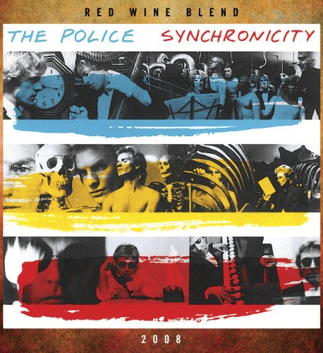 Wines That Rock The Police Synchronicity Red