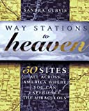 img - for Way Stations to Heaven: 50 Major Visionary Shrines in the United States book / textbook / text book