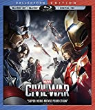 Marvels Captain America: Civil War (3D BD+BD+Digital HD) [Blu-ray]