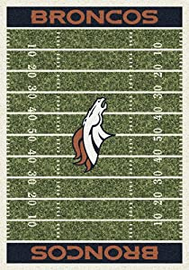 Milliken My Team Rugs - NFL - Denver Broncos - Home Field 3