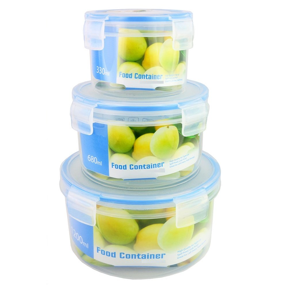 Round Storage Containers With Lids Round Storage Containers