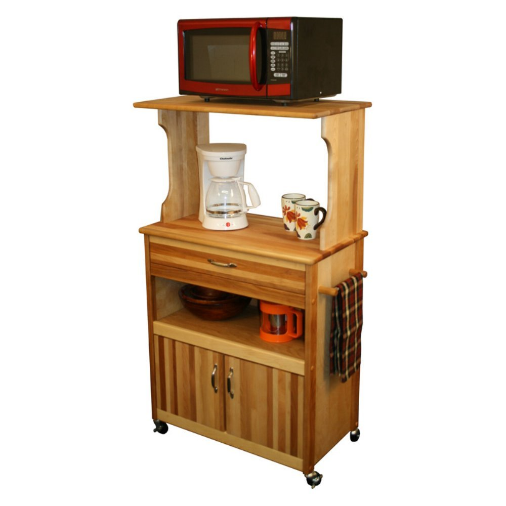 Kitchen Microwave Cabinet Microwave Kitchen Cart Amish Hardwood Microwave Serving Cart With