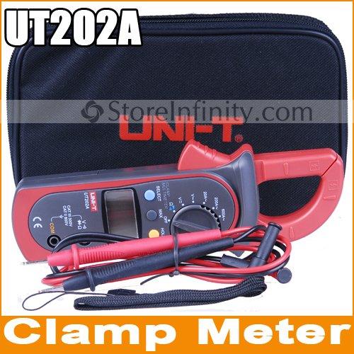 uni-t-ut202-a-pinza-amperimetrica-lcd-multimetro-digital-cc-ca-medicion-de-corriente-y-voltios