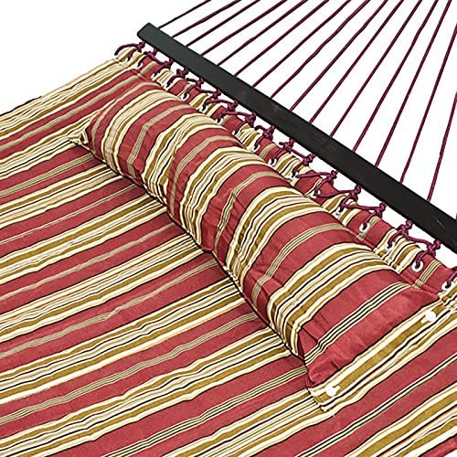 Hammock Quilted Fabric With Pillow