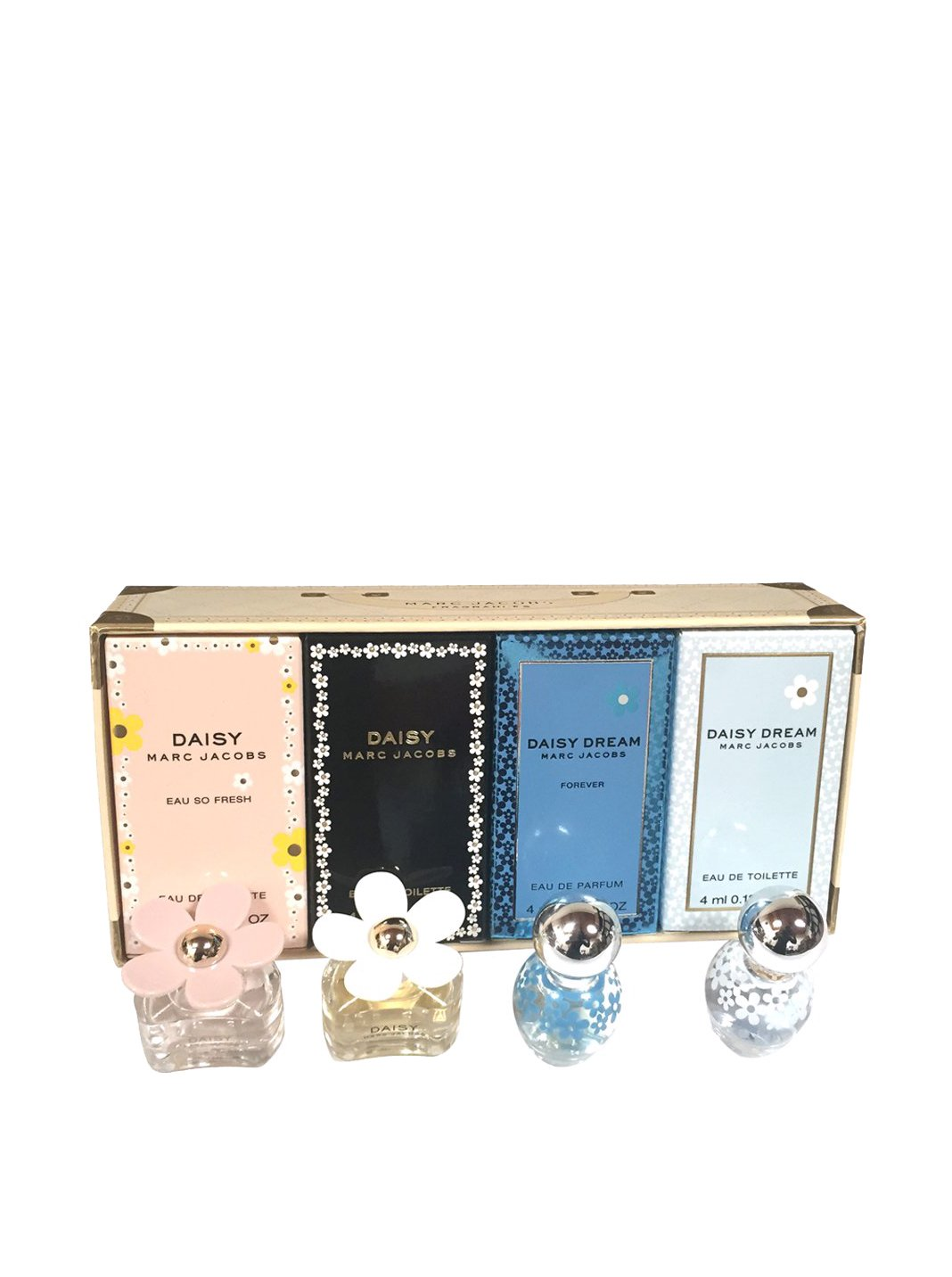MARC JACOBS 4 Piece Daisy Perfume Mini Set, 1 Fluid Ounce