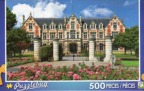 Puzzlebug 500 Piece Puzzle ~Wine Cellar Chateau Cantenac-Brown, France - 1