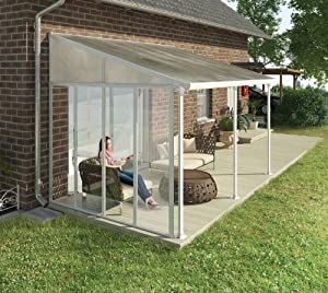hochwertige aluminium terrassen berdachung terrassendach seitenwand passend f r 3m. Black Bedroom Furniture Sets. Home Design Ideas