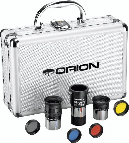 Orion 08889 1.25-Inch Telescope Accessory Kit (Silver)