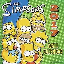 The Simpsons Wall Calendar (2017)