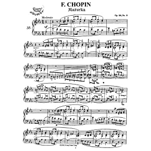 Chopin Mazurka Op. 67, No. 2: Instantly download and print sheet music Chopin