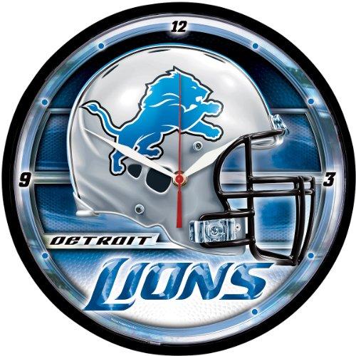 Wincraft Detroit Lions Round Clock