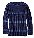 (アメリカンイーグル)正規品 メンズ 長袖Tシャツ ボーダー ロンT【全2種】american eagle 2171-8529all[M×ネイビー] [並行輸入品]