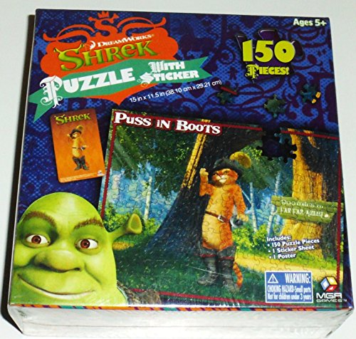 Puss in Boot Puzzle (From the Movie Shrek)