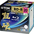 TDK Blue-ray DB-R 50GB Disk 20 Pack (Japanese Import)