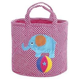 JoJo Maman Bebe Elephant Medium Storage Bucket, Elephant