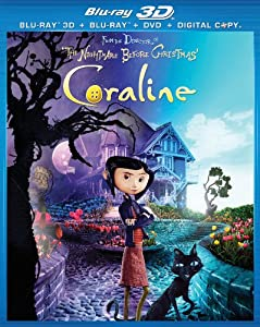 Coraline Blu-ray Dvd by Universal Studios
