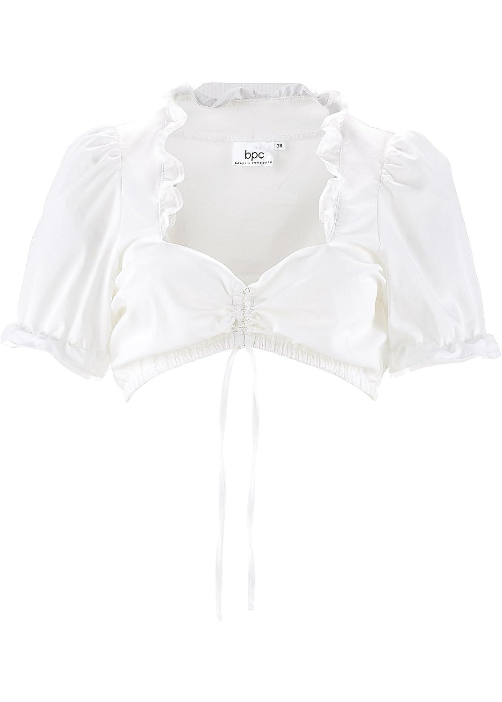 Damen Dirndl Unterzug-Bluse mit Rüschen günstig