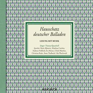 Das Lied von der Glocke (aus: Hausschatz deutscher Balladen) Hörbuch