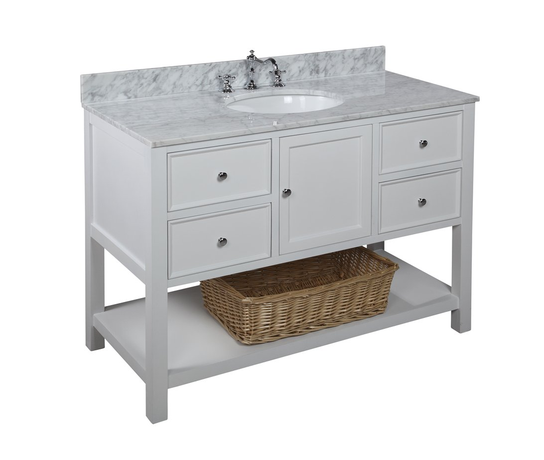 Original Master Bathroom Vanity  Pottery Barn  Benchwright Double Sink