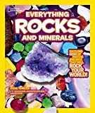 img - for National Geographic Kids Everything Rocks and Minerals: Dazzling gems of photos and info that will rock your world by Steve Tomecek (2011-10-11) book / textbook / text book