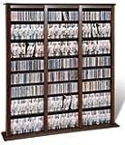 Prepac Barrister CD Storage Rack, Holds 1200 CDs