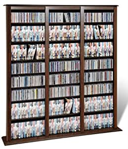 Prepac Barrister CD Storage Rack, Holds 1200