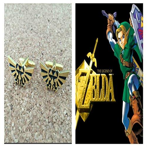 Video-Games-The-Legend-of-Zelda-Triforce-Logo-Cufflinks-By-Athena
