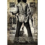 3:10 TO YUMA MOVIE POSTER 1 Sided ORIGINAL Advance 27x40 RUSSELL CROWE BEN FOSTER by Movie Poster Arena
