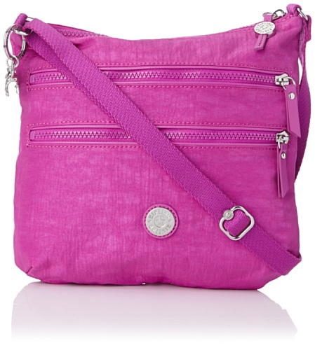 Kipling Womens Armande Shoulder Bag K1235612T Pink Dust