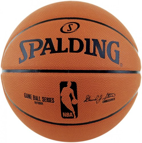 Spalding Palla da basket Spalding NBA Gameball Rep.sz.7,(73-361Z), Arancione (Orange/Schwarz), 7