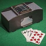 Automatische batteriebetrieben Poker Casino eine Zwei-Deck Kartenmischmaschine Sortieren von Lizzy