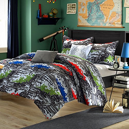 Full Size Camo Bedding 171730 front