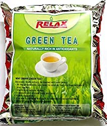 Relax Green Tea, 250g (Free Tea Infuser and Tea Spoon)